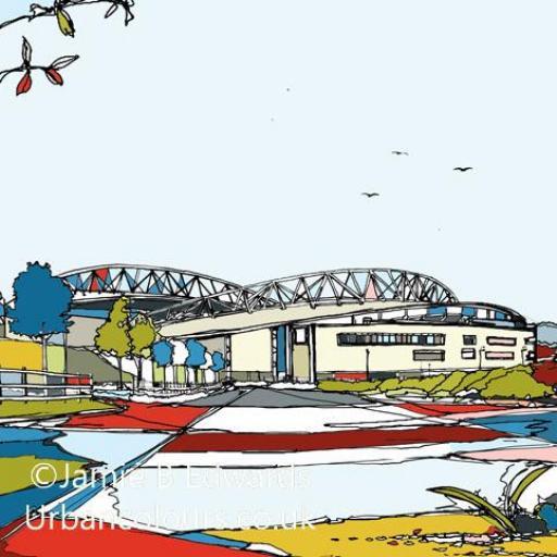Brighton Hove Albion - Falmer Stadium