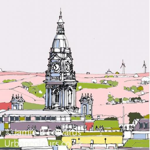 Bolton Town Hall Tower
