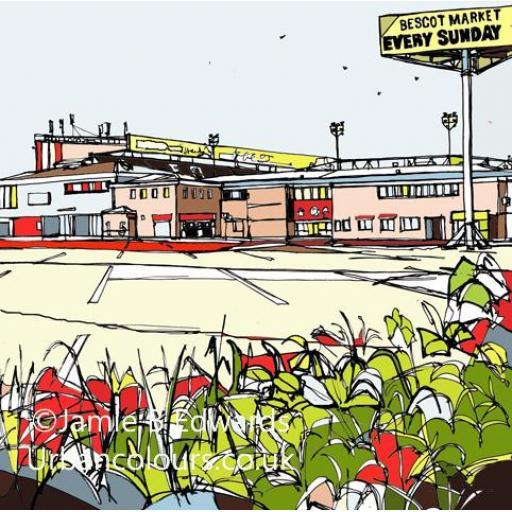 Walsall FC - Bescot Stadium