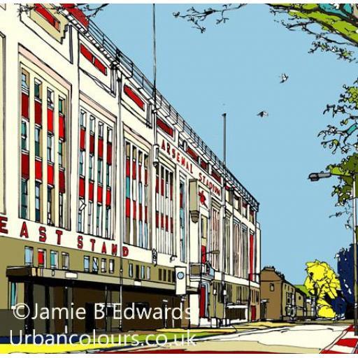 Arsenal - Highbury, East Stand.