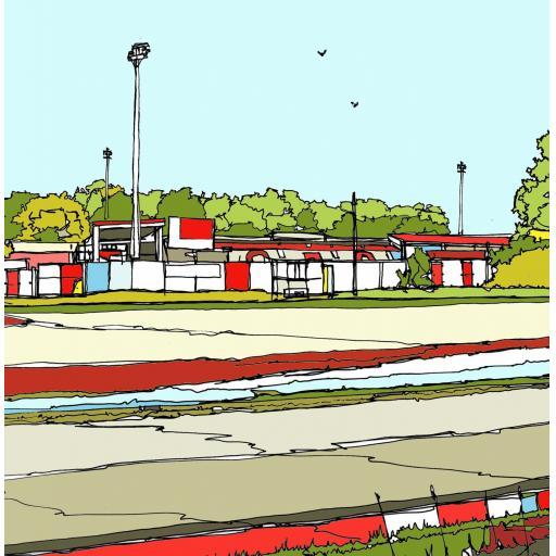 Stevenage FC - Broadhall Way
