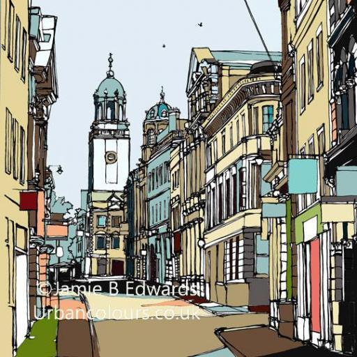 Corn Street - Bristol